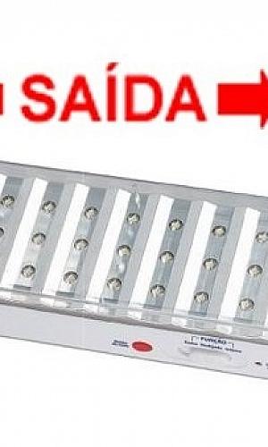 Sistema de luz de emergência